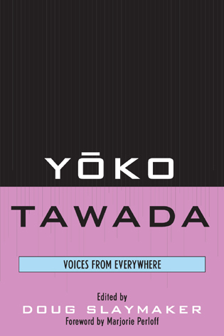 Cover image for the book Yoko Tawada: Voices from Everywhere
