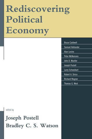 Cover image for the book Rediscovering Political Economy