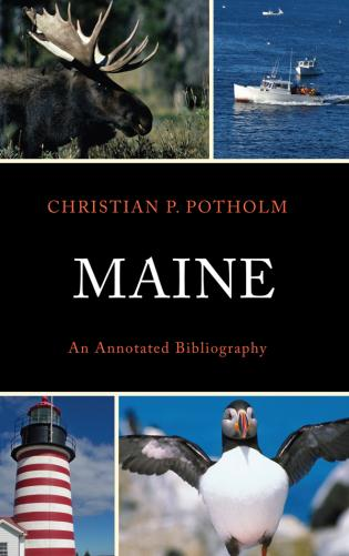 Cover image for the book Maine: An Annotated Bibliography