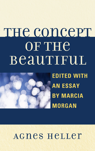Cover image for the book The Concept of the Beautiful