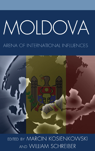 Cover image for the book Moldova: Arena of International Influences