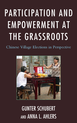 Cover image for the book Participation and Empowerment at the Grassroots: Chinese Village Elections in Perspective