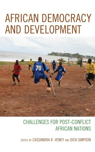 Cover image for the book African Democracy and Development: Challenges for Post-Conflict African Nations