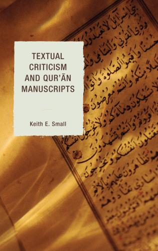 Cover image for the book Textual Criticism and Qur'an Manuscripts