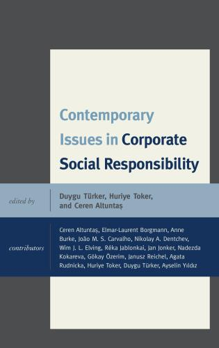 Cover image for the book Contemporary Issues in Corporate Social Responsibility
