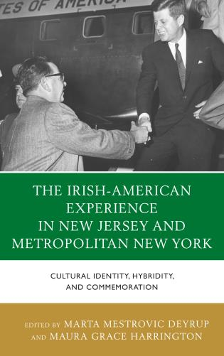 Cover image for the book The Irish-American Experience in New Jersey and Metropolitan New York: Cultural Identity, Hybridity, and Commemoration