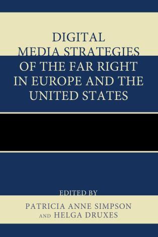 Cover image for the book Digital Media Strategies of the Far Right in Europe and the United States
