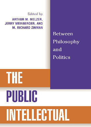 Cover image for the book The Public Intellectual: Between Philosophy and Politics