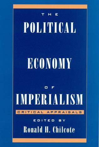 Cover image for the book The Political Economy of Imperialism: Critical Appraisals