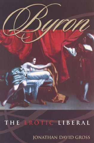 Cover image for the book Byron: The Erotic Liberal