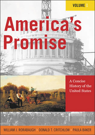 Cover image for the book America's Promise: A Concise History of the United States, Volume I