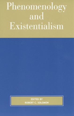 Cover image for the book Phenomenology and Existentialism, 2nd edition