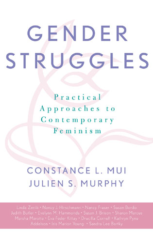 Cover image for the book Gender Struggles: Practical Approaches to Contemporary Feminism
