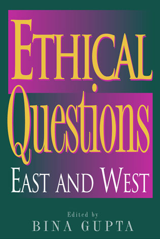 Cover image for the book Ethical Questions: East and West