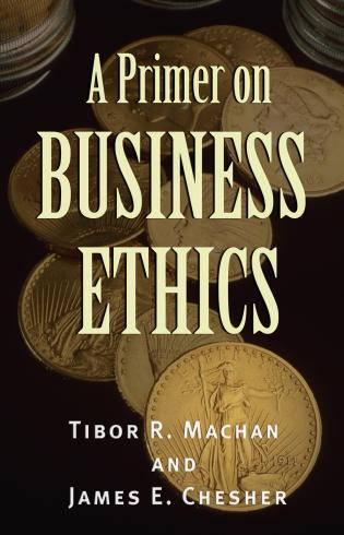 Cover image for the book A Primer on Business Ethics