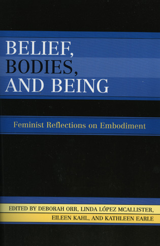 Cover image for the book Belief, Bodies, and Being: Feminist Reflections on Embodiment