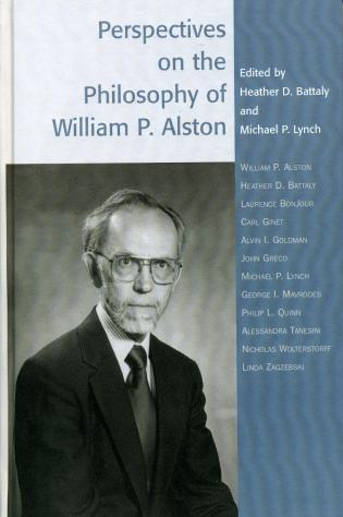 Cover image for the book Perspectives on the Philosophy of William P. Alston