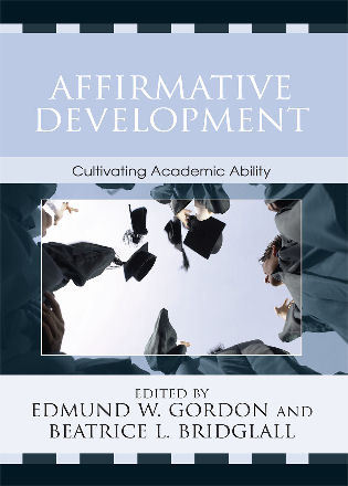 Cover image for the book Affirmative Development: Cultivating Academic Ability