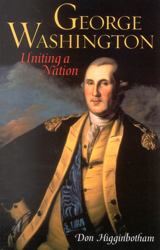 Cover image for the book George Washington: Uniting a Nation