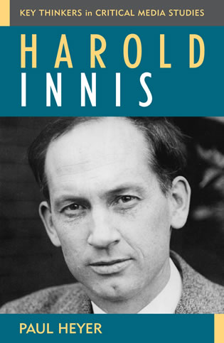 Cover image for the book Harold Innis