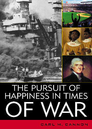 Cover image for the book The Pursuit of Happiness in Times of War