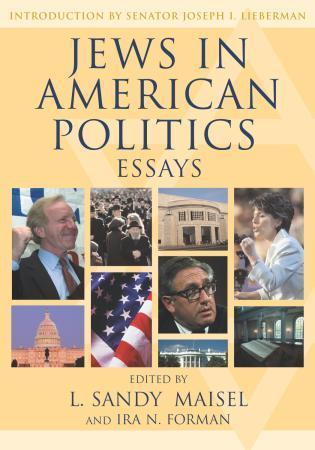Cover image for the book Jews in American Politics: Essays