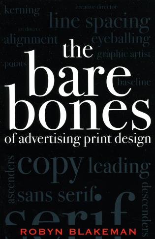 Cover image for the book The Bare Bones of Advertising Print Design