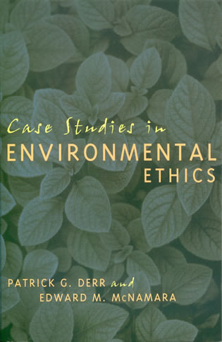 Cover image for the book Case Studies in Environmental Ethics