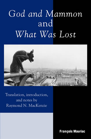 Cover image for the book God and Mammon and What Was Lost