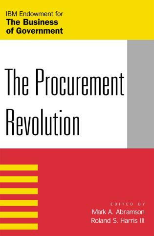 Cover image for the book The Procurement Revolution