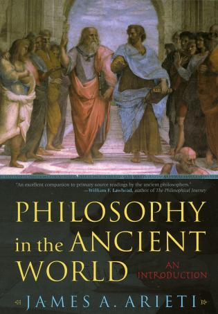Cover image for the book Philosophy in the Ancient World: An Introduction