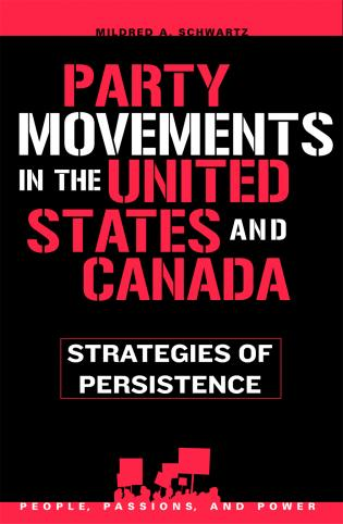 Cover image for the book Party Movements in the United States and Canada: Strategies of Persistence