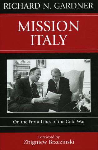 Cover image for the book Mission Italy: On the Front Lines of the Cold War