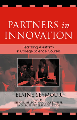 Cover image for the book Partners in Innovation: Teaching Assistants in College Science Courses