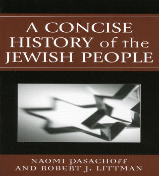 Cover image for the book A Concise History of the Jewish People