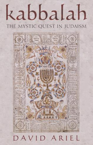 Cover image for the book Kabbalah: The Mystic Quest in Judaism