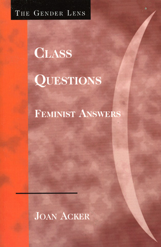 Cover image for the book Class Questions: Feminist Answers