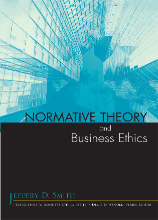 Cover image for the book Normative Theory and Business Ethics