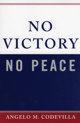 Cover image for the book No Victory, No Peace