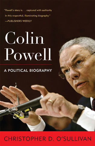 Cover image for the book Colin Powell: A Political Biography