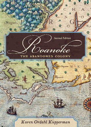 Cover image for the book Roanoke: The Abandoned Colony, 2nd Edition