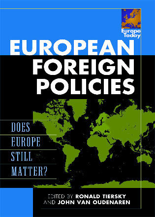 Cover image for the book European Foreign Policies: Does Europe Still Matter?