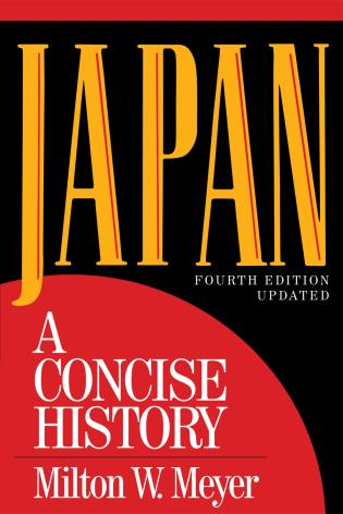 Cover image for the book Japan: A Concise History, Fourth Edition Updated