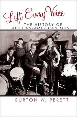 Cover image for the book Lift Every Voice: The History of African American Music