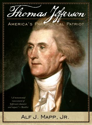 Cover image for the book Thomas Jefferson: America's Paradoxical Patriot