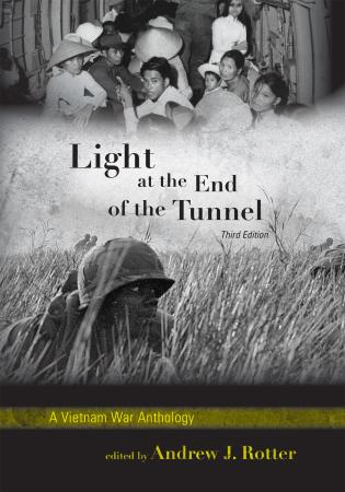 Cover image for the book Light at the End of the Tunnel: A Vietnam War Anthology, 3rd Edition