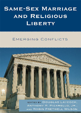 Cover image for the book Same-Sex Marriage and Religious Liberty: Emerging Conflicts