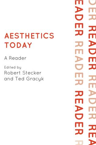 Cover image for the book Aesthetics Today: A Reader