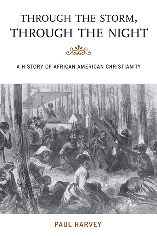 Cover image for the book Through the Storm, Through the Night: A History of African American Christianity