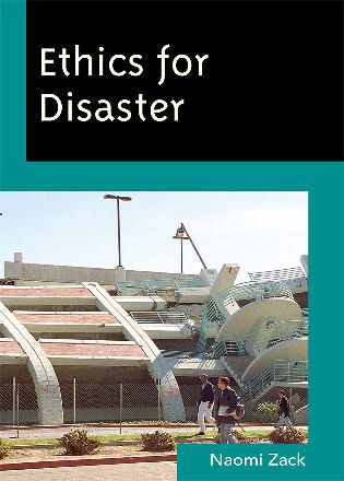Cover image for the book Ethics for Disaster